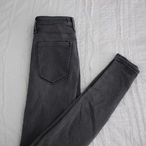 Abercrombie and Fitch High Rise Super Skinny Jeans